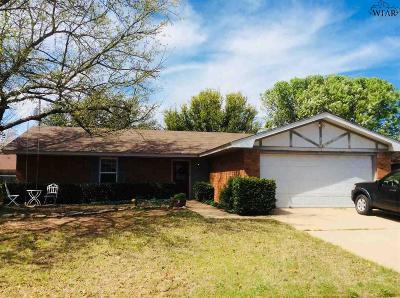 Wichita Falls TX Single Family Home For Sale: $132,500