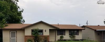 Iowa Park Single Family Home For Sale: 1213 S Wall Street