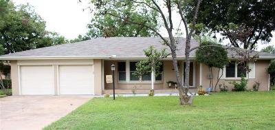 Wichita Falls TX Single Family Home For Sale: $174,900
