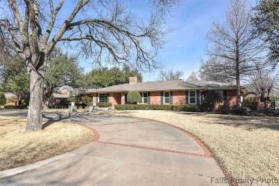 Wichita Falls Single Family Home For Sale: 3506 Harrison Street