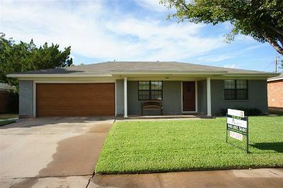 Wichita County Rental For Rent: 1534 Melody Lane