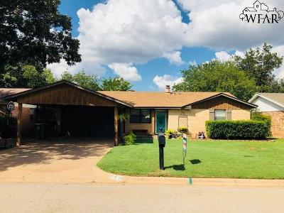 Iowa Park Single Family Home For Sale: 610 W Coleman Avenue