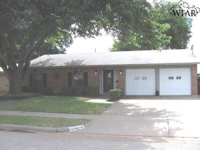 Wichita Falls TX Single Family Home For Sale: $94,900