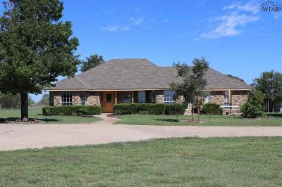 Wichita Falls Single Family Home For Sale: 1508 Tammen Road
