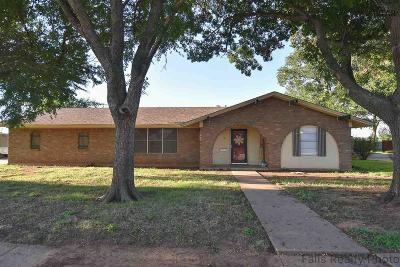 Wichita Falls Single Family Home For Sale: 4601 Del Rio Trail