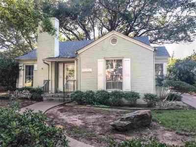 Wichita Falls TX Single Family Home For Sale: $140,000