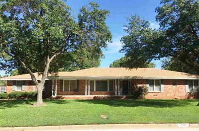 Wichita Falls Single Family Home For Sale: 1626 Christine Road
