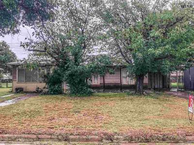 Wichita Falls TX Single Family Home For Sale: $38,500