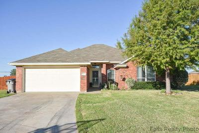 Wichita Falls Single Family Home For Sale: 3 Jacob Court