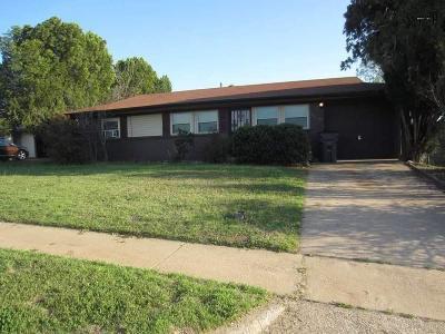 Wichita Falls TX Single Family Home For Sale: $32,500