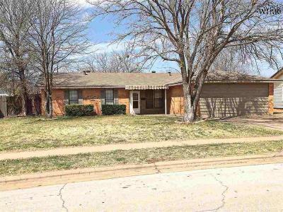 Wichita Falls TX Single Family Home For Sale: $117,500