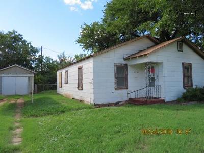 Wichita Falls TX Single Family Home For Sale: $17,500