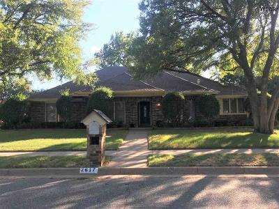 Wichita Falls Single Family Home For Sale: 2617 San Simeon Drive