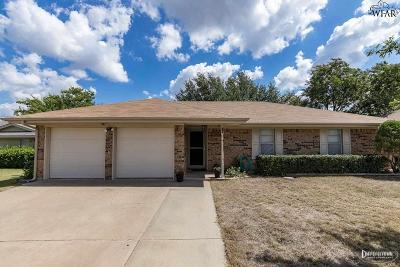 Wichita Falls TX Single Family Home For Sale: $113,500