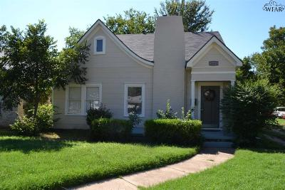 Single Family Home Active W/Option Contract: 1819 McGregor Avenue