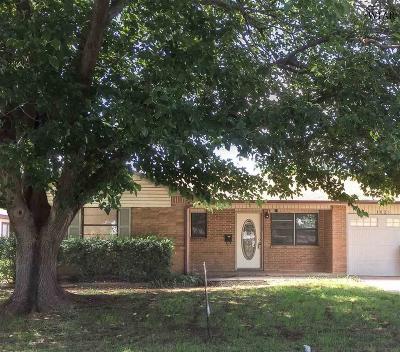 Wichita Falls Single Family Home For Sale: 1626 Las Vegas Trail