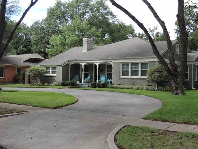 Wichita Falls Single Family Home For Sale: 2400 Dartmouth Street