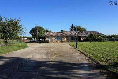 Holliday Single Family Home Active W/Option Contract: 14805 Fm 368