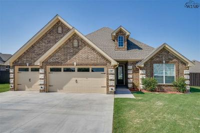 Wichita County Single Family Home For Sale: 12 Prairie Lace Court