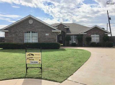Wichita Falls Single Family Home For Sale: 2 Ashley Court