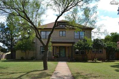 Wichita Falls Single Family Home For Sale: 3701 Kessler Boulevard