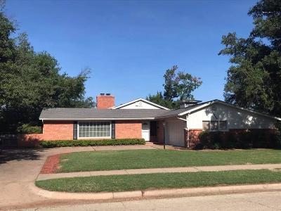 Single Family Home Active W/Option Contract: 4806 Augusta Lane