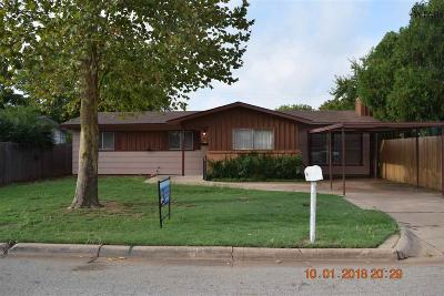 Single Family Home For Sale: 1208 S Wall Street