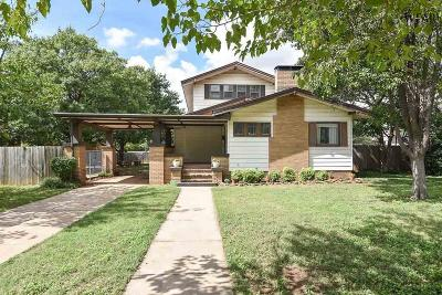 Wichita County Single Family Home For Sale: 1710 Grant Street