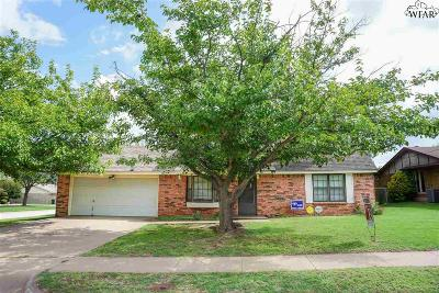 Wichita County Single Family Home For Sale: 5513 Castle Drive
