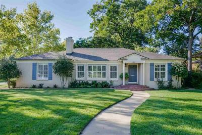 Wichita County Single Family Home For Sale: 2401 Berkeley Drive