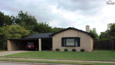 Wichita Falls Single Family Home For Sale: 4621 Cascades Drive