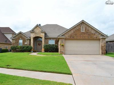 Wichita Falls TX Single Family Home Active W/Option Contract: $209,900