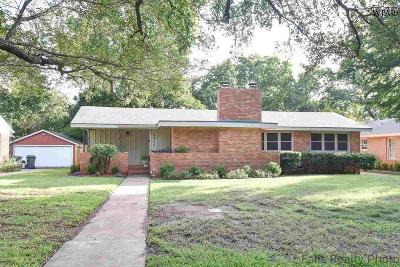 Wichita Falls Single Family Home For Sale: 2413 Farington Road