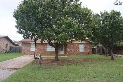 Wichita Falls Single Family Home For Sale: 3010 McGaha Avenue