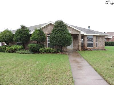 Wichita Falls TX Single Family Home For Sale: $155,000