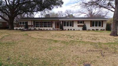 Wichita Falls Single Family Home For Sale: 2302 Farington Road