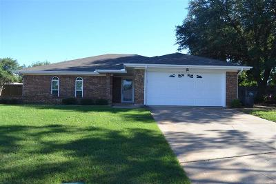 Wichita Falls TX Single Family Home For Sale: $161,000