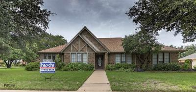 Wichita Falls TX Single Family Home Active W/Option Contract: $279,900