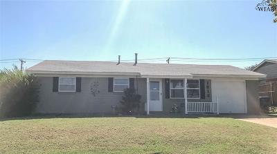 Wichita Falls Single Family Home For Sale: 1612 Central Freeway