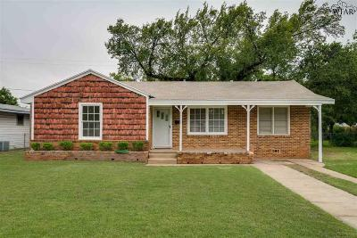 Wichita Falls Single Family Home For Sale: 206 Fillmore Street