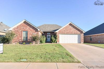 Wichita Falls Single Family Home For Sale: 5630 Ross Creek Lane