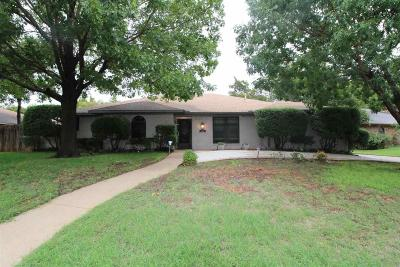 Wichita Falls Single Family Home For Sale: 4406 Ridgemont Drive