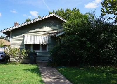 Wichita Falls Single Family Home For Sale: 1303 Marshall Street