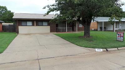 Wichita Falls Single Family Home For Sale: 4616 Northshore Drive