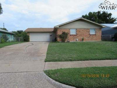 Wichita Falls Single Family Home For Sale: 1603 Parkdale Drive
