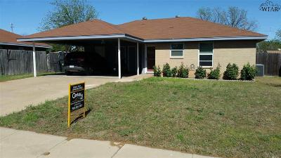 Wichita Falls Single Family Home For Sale: 1715 Grandview East