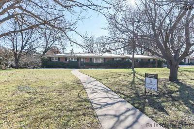 Wichita Falls TX Single Family Home For Sale: $125,000