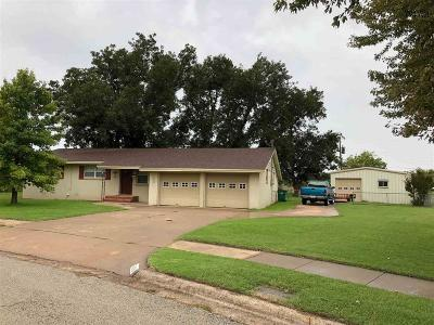 Burkburnett Single Family Home Active W/Option Contract: 505 N Hilltop Avenue