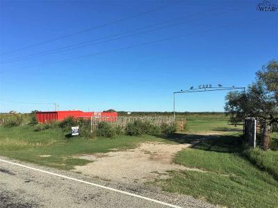 Wichita Falls Residential Lots & Land For Sale: 17955 Fm 171