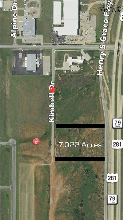 Wichita Falls Residential Lots & Land For Sale: 7.022 Acres Kimbell Drive